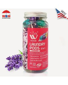 WBM Home Laundry Pods-Lavender-12 PCS